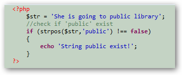 PHP check if string contains specific words